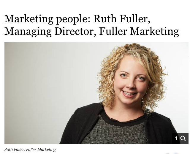 Ruth Fuller, Fuller Marketing Cork, Marketing Consultant